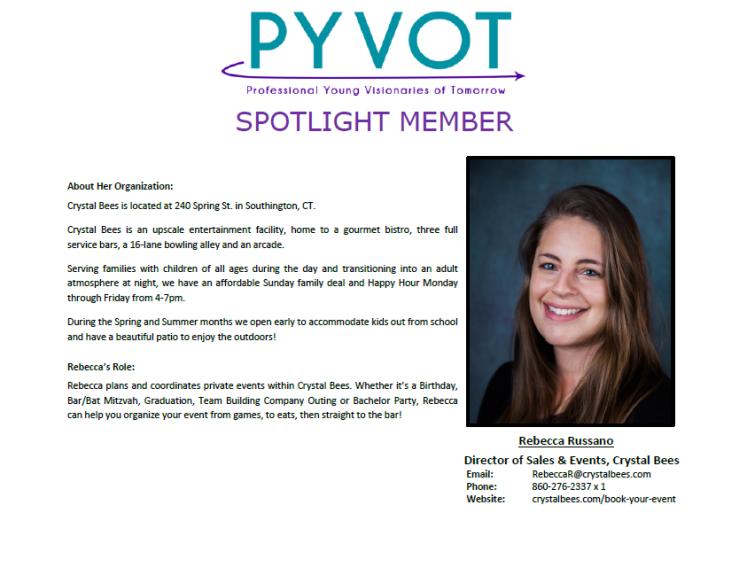 Spotlight Member - Rebecca Russano
