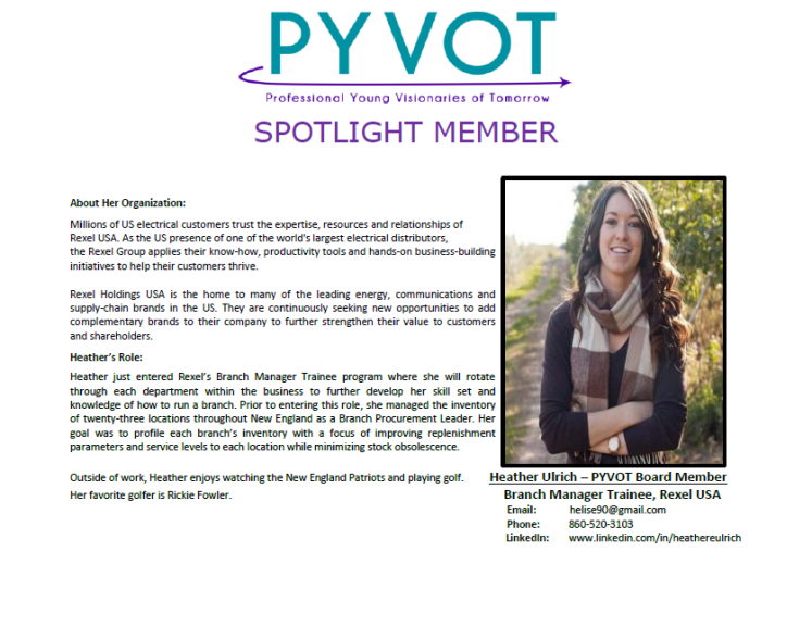 Spotlight Member - Heather Ulrich
